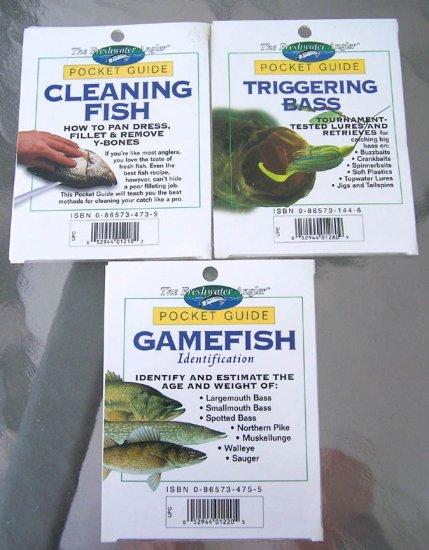 3 NEW Freshwater Angler Pocket Guides