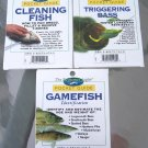 3 NEW Freshwater Angler Pocket Guides