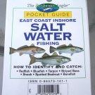 Pocket Guide East Coast Inshore Salt Water Fishing NEW
