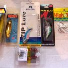 Lure & Jig Assortment featuring Storm, Zip & Rapala NEW