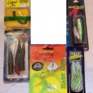 Lure Assortment featuring Culprit, Rip Tide & Wazp NEW