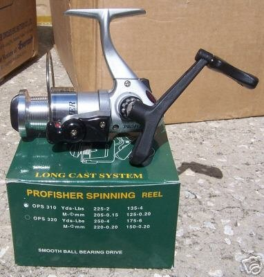 Yad Profisher Spinning Reel Model OPS310 Silver NIB