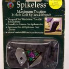 Club Champ Spikeless 24 Soft Spikes & Wrench NEW