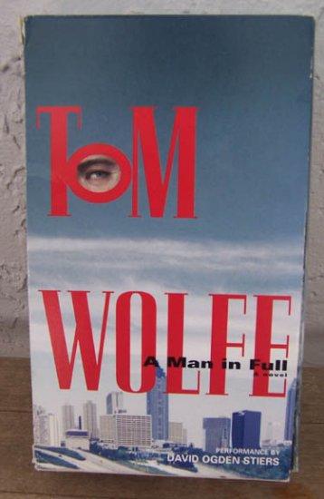 A Man in Full by Tom Wolfe - Cassette (1998)