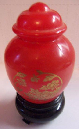 Avon 1.5 fl. Oz. Moonwind Cologne Red Oriental bottle