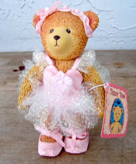 Russ Teddy Town Ballerina 13732 with Tag