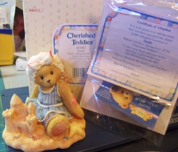 Cherished Teddies #203467 Sandy