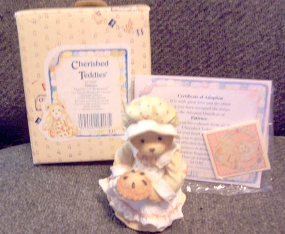 Cherished Teddies #617105 Patience