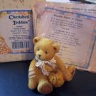 "Cherished Teddies #914843 Oscar ""Sweet Treats"" October Bear"