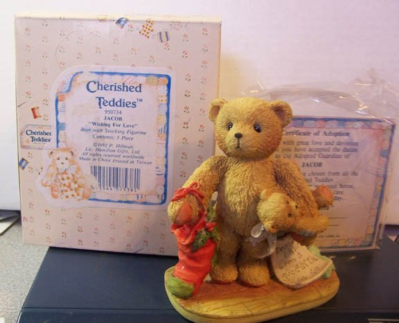 Cherished Teddies #950734 Jacob