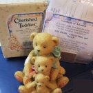 Cherished Teddies #950505 Theadore, Samantha, and Tyler
