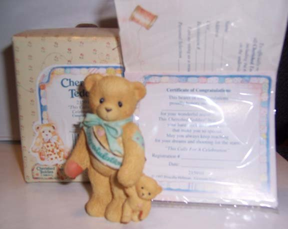 "Cherished Teddies #215910 ""This Calls For A Celebration"""