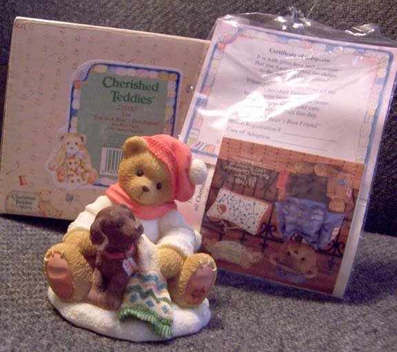 Cherished Teddies #272167 Lee