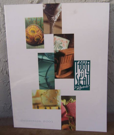 2001 Take A Seat by Raine Catalog Mint Condition