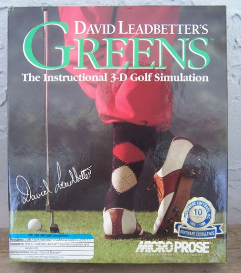 David Leadbetter's Greens - The Instructional 3-D Golf Simulation