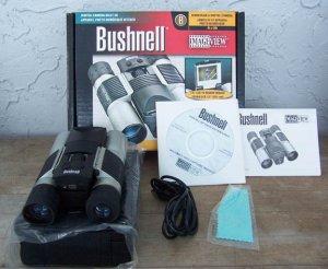Bushnell 11-0832 Binocular & Built in Digital Camera