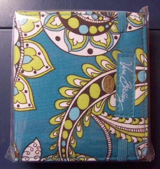 Vera Bradley Mini Notebook Peacock sealed