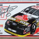 Busch Series Mark Martin #60 Winn Dixie License Tag