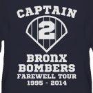Derek Jeter NY Yankees - Bronx Bombers Captain Clutch Baseball Tshirt