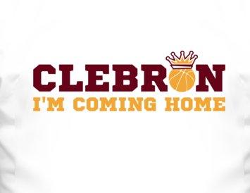 Clebron Basketball T Shirt - Lebron James Cleveland Cavaliers