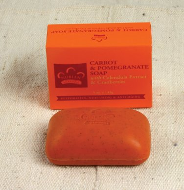 Carrot & Pomegranate Soap - 5 oz.    (M-S312)