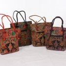 Leather Shanti Elephant Tote Bag (C-A145)