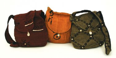 Mud Cloth Handbag  (C-A059)