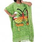 Butterfly Kaftan (C-WF819) Green