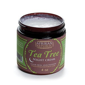 Afrikan Republic Tea Tree Night Cream 4 oz. M-P944