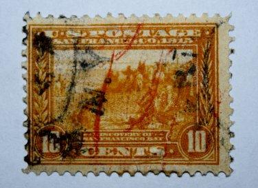 U.S. #400 - 1913 10c San Francisco Bay