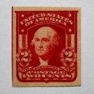 U.S. #320 - 1906 2c Washington, Imp, carmine