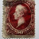 US #191 - 1879 90c Perry, carmine  -