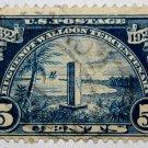 U.S. Cat. # 616 - 1924 5c Monument at Mayport, Florida