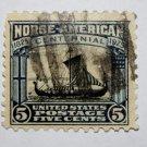 U.S. Cat. # 621 - 1925 5c Viking Ship