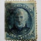 U.S. Cat. # 179 - 1875 5c Zachary Taylor, blue
