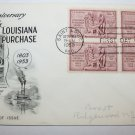 First Day of Issue - 150th. Anniversary of Louisiana Purchase- 1953