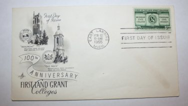 First Day of Issue - First Land Grant Colleges 1955