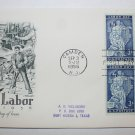 First Day of Issue - American Labor 1956