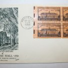 First Day of Issue - Nassau Hall 1956