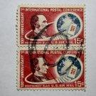 U.S. Cat. # C66 - 1963 15c 1st Internl Post Conf