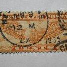 U.S. Cat. # C19 - 1934 6c Rotary Perf 10-1/2 x 11