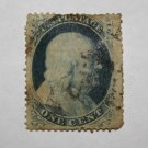U.S. Cat. # 24 - 1857 1c Franklin, T5