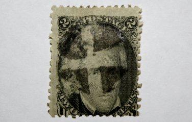 U.S. Cat. # 73 - Series of 1861-66 2¢ Jackson