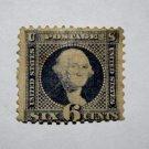 U.S. Cat. # 115 - 1869 6c Washington, ultramarine