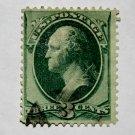 U.S. Cat. # 136 - 1870-71 3 cent Washington