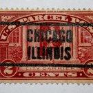 U.S. Cat. # Q2 -1913 2c Parcel Post Stamp