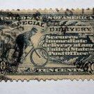 U.S. Cat. # E11 -1917 10¢ Bicycle Messenger