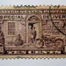 1-U.S. Cat. # E15 -1927 Rotary Press 10c