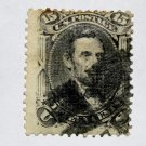 U.S. Cat. # 77- 1866 15c Lincoln, black