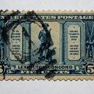 U.S. Cat. # 619 -1925 5c The Minute Man